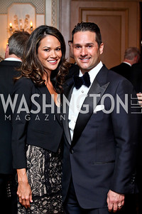 Dana Lee and Chris Tavlarides. Photo by Tony Powell. theatreWashington Star Gala & Benefit Auction. Four Seasons. October 26, 2012