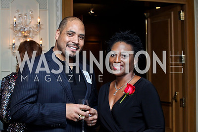Michael Bobbitt, Dawn Ursula. Photo by Tony Powell. theatreWashington Star Gala & Benefit Auction. Four Seasons. October 26, 2012