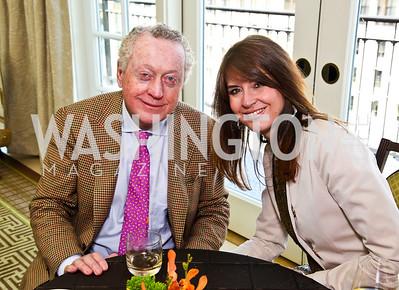 Tom Quinn, Lynly Boor. McLaughlin Brunch. Photo by Tony Powell. Hay Adams. April 29, 2012