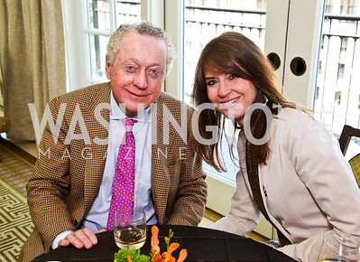 Tom Quinn, Lynly Boor. McLaughlin Brunch. Photo by Tony Powell. Hay Adams. April 29, 2012