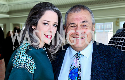 Heather and Tony Podesta. McLaughlin Brunch. Photo by Tony Powell. Hay Adams. April 29, 2012