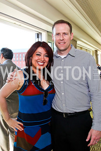 Dr. Alex Naini and Adam Pender. McLaughlin Brunch. Photo by Tony Powell. Hay Adams. April 29, 2012