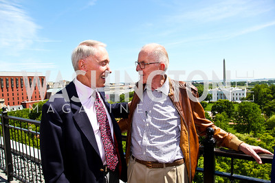 Jim Kimsey, John McLaughlin. McLaughlin Brunch. Photo by Tony Powell. Hay Adams. April 29, 2012