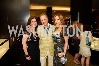 Diane Brown, Tim Greenan,Jocelyn Greenan,March 22,2012,Tiffany and Co. Rubedo Reception,Kyle Samperton