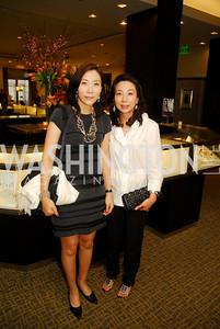 Gak Qyung Chang,June Kil,March 22,2012,Tiffany and Co. Rubedo Reception,Kyle Samperton