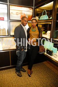 Ramon Queen,Nakia Durant,March 22,2012,Tiffany and Co. Rubedo Reception,Kyle Samperton
