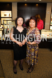 Yung A Byeon Lee,Cindy Lee,March 22,2012,Tiffany and Co. Rubedo Reception,Kyle Samperton