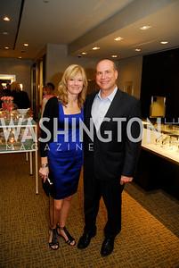 Kathy Johnson,Joe Linza,March 22,2012,Tiffany and Co. Rubedo Reception,Kyle Samperton