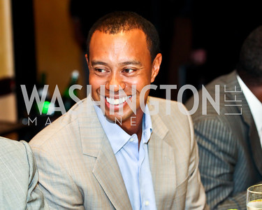 Tiger Woods. Tiger Woods Luncheon. Photo by Tony Powell. Cafe Milano. May 21, 2012