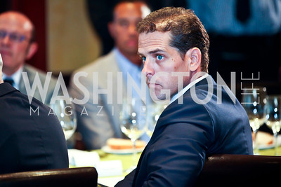 Hunter Biden. Tiger Woods Luncheon. Photo by Tony Powell. Cafe Milano. May 21, 2012