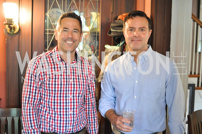 Mike Johnson, Mike Shank.  Transformer Gallery holds a Collector's View at the home of Thom Haller and Bill Wallace.