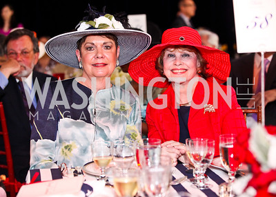 Diane Jones, Ann Hand. Trust for the National Mall 5th Anniversary Benefit Luncheon. Photo by Tony Powell. May 3, 2012