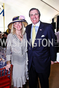 Laurie and Bob Monahan. Trust for the National Mall 5th Anniversary Benefit Luncheon. Photo by Tony Powell. May 3, 2012
