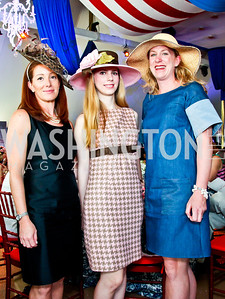 Kier Peterson, Hadley Nagel, Jennifer Martz. Trust for the National Mall 5th Anniversary Benefit Luncheon. Photo by Tony Powell. May 3, 2012