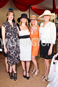 Corina Mallona, Piper Gioia, Kelly Lovallo, Michelle Olson. Trust for the National Mall 5th Anniversary Benefit Luncheon. Photo by Tony Powell. May 3, 2012