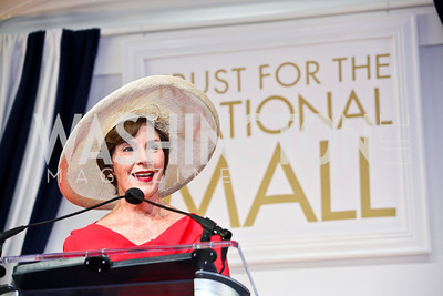 Laura Bush. Trust for the National Mall 5th Anniversary Benefit Luncheon. Photo by Tony Powell. May 3, 2012