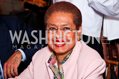 Eleanor Holmes Norton. Trust for the National Mall 5th Anniversary Benefit Luncheon. Photo by Tony Powell. May 3, 2012