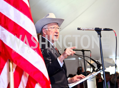 Interior Secretary Ken Salazar. Trust for the National Mall 5th Anniversary Benefit Luncheon. Photo by Tony Powell. May 3, 2012