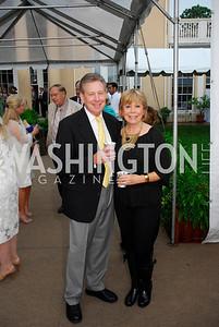 Chuck Wagner,Sheila Wagner,May 23,2012,Tudor Place Garden Party,Kyle Samperton