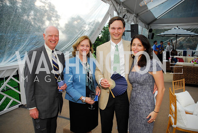Knight KiplingerKathryn Baker,Grey Baker,Genevieve Thonton,May 23,2012,Tudor  Place Garden Party,Kyle Samperton