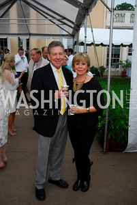 Chuck Wagner,Sheila Wagner,May 23,2012,Tudor  Place Garden Party,Kyle Samperton