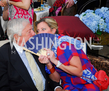 Hugh Jacobsen,Tina Alster,.May 23,2012,Tudor  Place Garden Party,Kyle Samperton