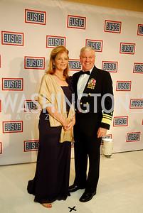 Nina Blake,Vice Adm.John Blake,November 2,2012,USO Gala,Kyle Samperton