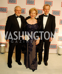 Jim Gale,Lisa Barry,Steve Hall,November 2,2012,USO Gala,Kyle Samperton
