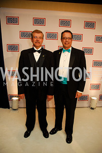Jim Plunkett,Randy Plunkett,November 2,2012,USO Gala,Kyle Samperton