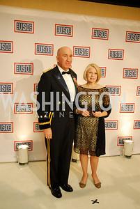 Lt Gen.Michael Barbero,Linda Barbero,November 2,2012,USO Gala,Kyle Samperton