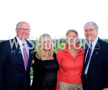 Harold Zirkin,Trish Vradenburg,Nancy Zirkin,George Vradenburg,May 17,2012,Us Against Alzheimers' No Gala Gala,Kyle Samperton