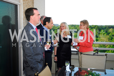 Greg White,Hank Goldberg,Trish Vradenburg,Nancy Zirkin,May 17,2012,Us Against Alzheimers' No Gala Gala,Kyle Samperton