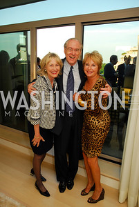 Lynda Webster,George Vradenburg,Elaine Cole,May 17,2012,Us Against Alzheimers' No Gala Gala,Kyle Samperton