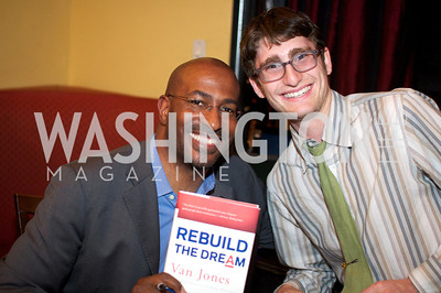Van Jones speaks about his book Rebuild the Dream at Busboys and Poets