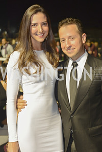 Kate Michael and Douglas Sonders,  Walk This Way Fashion Charity Event, Kastles Stadium at the Wharf, Photo by Ben Droz.