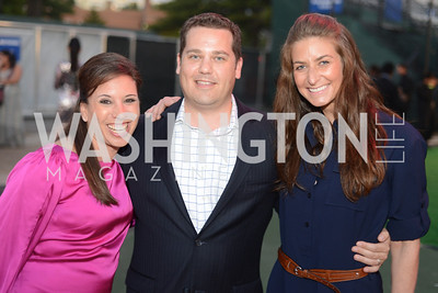 Michelle Goodman, Steve Goodman, Sydney Golden,  Walk This Way Fashion Charity Event, Kastles Stadium at the Wharf, Photo by Ben Droz.