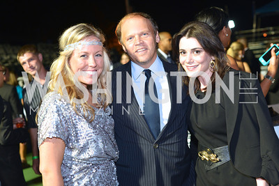Maggie O'Neill, Mark Ein, Jacqueline Mason,  Walk This Way Fashion Charity Event, Kastles Stadium at the Wharf, Photo by Ben Droz.