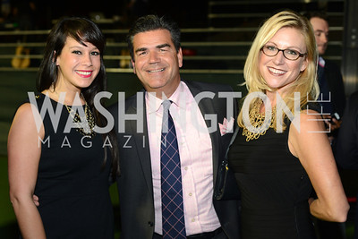 Christie Lynn, David Cronin, Jessica Gibson,  Walk This Way Fashion Charity Event, Kastles Stadium at the Wharf, Photo by Ben Droz.