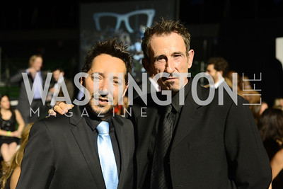 Luigi Parasmo, Javier Calvo,  Walk This Way Fashion Charity Event, Kastles Stadium at the Wharf, Photo by Ben Droz.
