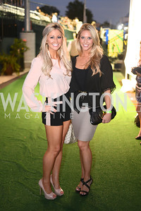 Lindsey Murray, Amanda Mitchell,  Walk This Way Fashion Charity Event, Kastles Stadium at the Wharf, Photo by Ben Droz.