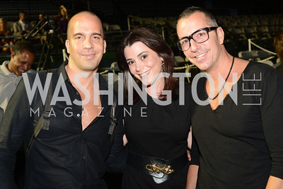 Carl Ray, Jacqueline Mason, Rick Raines,  Walk This Way Fashion Charity Event, Kastles Stadium at the Wharf, Photo by Ben Droz.