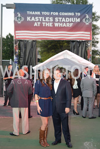 Steve Goodman, Sydney Golden, Walk This Way Fashion Charity Event, Kastles Stadium at the Wharf, Photo by Ben Droz.