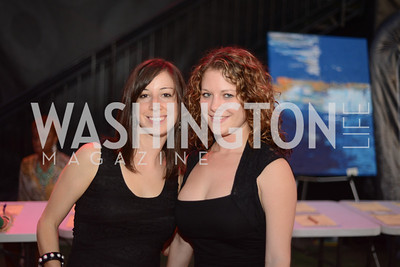Sheri Brick, Sarah Kyger,  Walk This Way Fashion Charity Event, Kastles Stadium at the Wharf, Photo by Ben Droz.