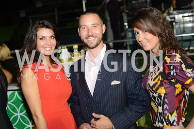 Camilla Garza, Matthew Smith, Amy Allen,  Walk This Way Fashion Charity Event, Kastles Stadium at the Wharf, Photo by Ben Droz.