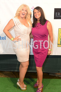 Mo Bryant, Bonnie Ross,  Walk This Way Fashion Charity Event, Kastles Stadium at the Wharf, Photo by Ben Droz.