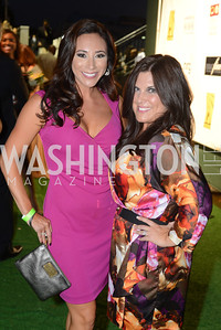 Lisa Goldberg, Allison Siberman, Walk This Way Fashion Charity Event, Kastles Stadium at the Wharf, Photo by Ben Droz.