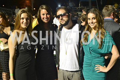 Micayla Diener, Cristina Murphy, Samy K, Ashley Bergman, Walk This Way Fashion Charity Event, Kastles Stadium at the Wharf, Photo by Ben Droz.