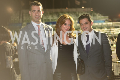 Carlos Gutierrez, Erika Gutierrez, Hamed Alaghebandian,  Walk This Way Fashion Charity Event, Kastles Stadium at the Wharf, Photo by Ben Droz.