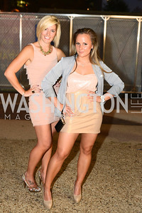 Karen Bonney, Melly Wade,  Walk This Way Fashion Charity Event, Kastles Stadium at the Wharf, Photo by Ben Droz.
