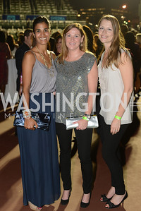 Christa Steadman, Kristen Weber, Laurel Leverrier, Walk This Way Fashion Charity Event, Kastles Stadium at the Wharf, Photo by Ben Droz.
